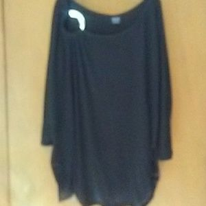 Faded glory as 2x women's 3/4 sleeve black pullove